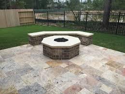 travertine patio pavers primo outdoor living