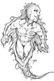 naruto coloring paper coloring pages human torch tattoo drawings