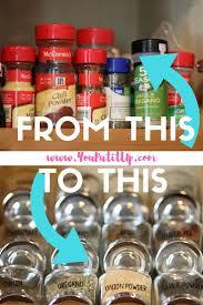 best 25 spice cabinet organize ideas on pinterest kitchen spice