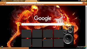 how to customize chrome homepage with cool themes