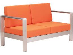 Zuo Outdoor Furniture by Zuo Outdoor Cosmopolitan Sofa Cushion In Orange 703652