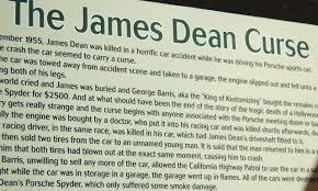 spyder porsche james dean does this hunk of metal carry the james dean curse cars in depth