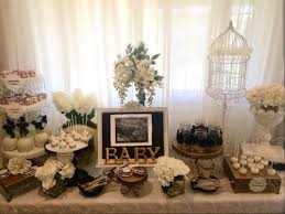 Shabby Chic Baby Shower Ideas by Black And White Shabby Chic Baby Shower Baby Shower Ideas