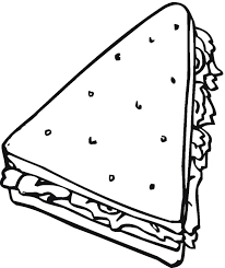 Free Bread Cereal Coloring Pages Bread Coloring Page