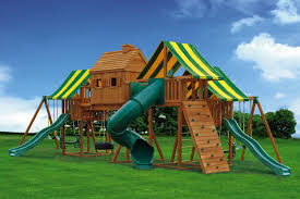 big backyard swing set home design and idea
