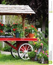 flower cart flower cart stock photography image 5437222
