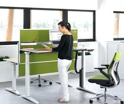 office depot desk mat office max standing desk a electric or hand crank standing desk