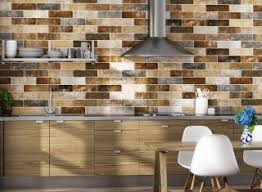 Design Of Kitchen Tiles Brick Effect Kitchen Wall Tiles Home Design Inspiration