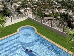 Backyard Artificial Grass by Backyard Artificial Grass Benefits Cleaner Pools Artificial