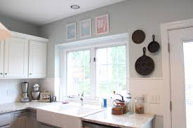 Alabaster Sherwin Williams Extreme Makeover Kitchen Cabinets A Piece Of The Pyles