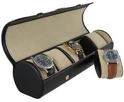 Five watch travel roll box orbita verona w92015 black leather