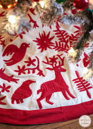 flocked christmas tree inspired by charm idolza