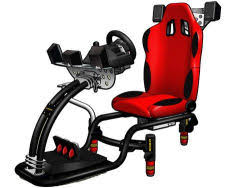 Armchair Racing Gaming Chair Gaming Weapons