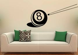 billiard ball wall decal vinyl stickers snooker sports game