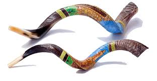 israel shofar special edition painted shofar barsheshet ribak shofarot