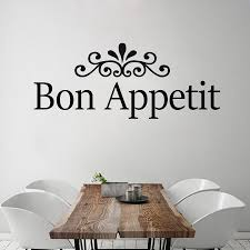 popular french quotes wall decor buy cheap french quotes wall simple dining room wall decor bon appetit wall decal french removable vinyl art quote wall sticker