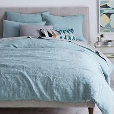 blue u0026 purple bedding west elm