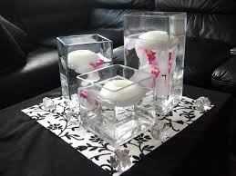 sweet 16 centerpieces cheap sweet sixteen table sweet 16 pink flowers in small glass