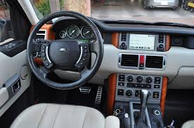 range rover interior 2006 land rover range rover supercharged review rnr automotive blog