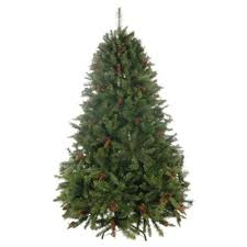 buy festive 7ft loch lomond pine tree with pine cones
