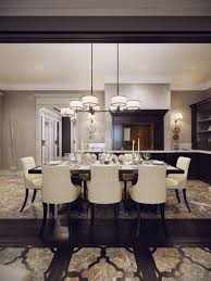Luxury Dining Table And Chairs Dining Room Fashionable Dining Room Design With Black