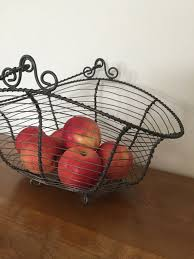 Shabby Chic Wire Baskets by 86 Best Baskets Images On Pinterest Wicker Baskets Basket And