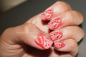 sharp as nails a nail art blog when in doubt wear red