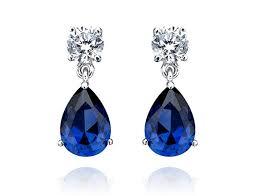 best earrings 10 best sapphire earrings images on sapphire earrings