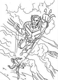 comic book coloring pages printable x men coloring pages comic book coloring pages