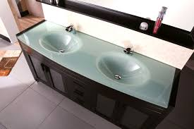 Double Sinks Waterfall 71 U2033 Double Sink Vanity Set In Espresso Design Element