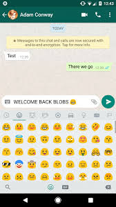 how to get blob emojis in whatsapp and telegram on android oreo
