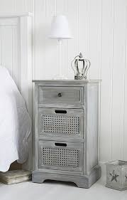 Grey Side Table White Bedside Table And Cabinets Bedroom Furniture