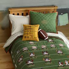 baby room children beds on bedding children green football sports themed quilt bedding