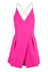 topshop dress strappy bonded mini dress topshop