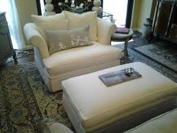 oversized fabric chair with ottoman comfortable oversized chairs with ottoman homesfeed