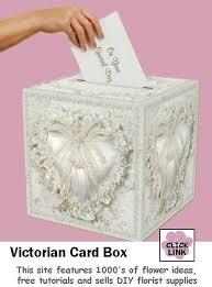 wedding gift card box gift card box