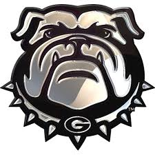 georgia bulldogs ncaa college team logo auto car solid