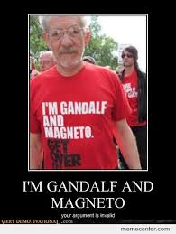 Magneto Meme - i m gandalf and magneto by ben meme center