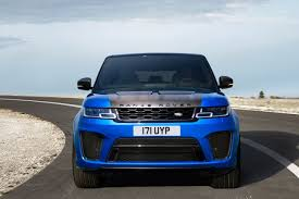 land rover electric 2018 land rover range rover sport svr delivers more dynamic
