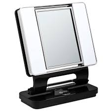 ottlite natural makeup mirror black lighted vanity mirrors