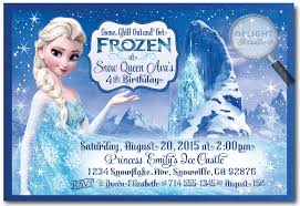 frozen birthday invitations best invitations card ideas