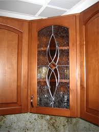 leaded glass kitchen cabinets backyards your kitchen cabinet just got prettier the glass door