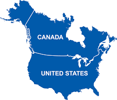 Map Of Canada And Us Services U2013 Bh Xpress