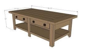 standard coffee table dimensions coffee table dimensions diy puntopharma