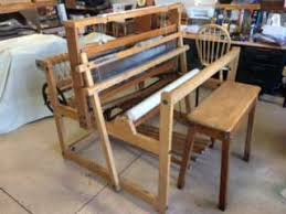Bench Loom Used Weaving Equipment For Sale The Woolery