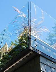 glas balkon neue geländer für terrasse und balkon aus holz edelstahl oder glas