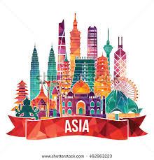 travel asia images Asia skyline detailed silhouette travel tourism stock photo photo jpg