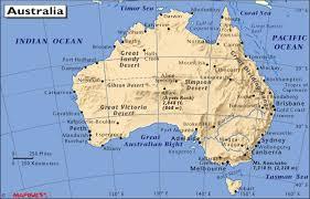 atlas map of australia wollongong map
