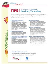 reading tip sheets for educators colorín colorado