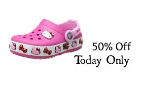 crocs black friday amazon sale 50 off crocs today only southern savers